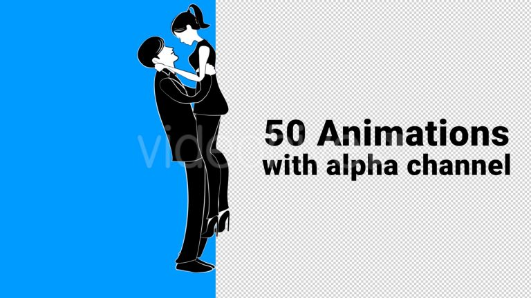 Animated Character Pack – Male and Female
