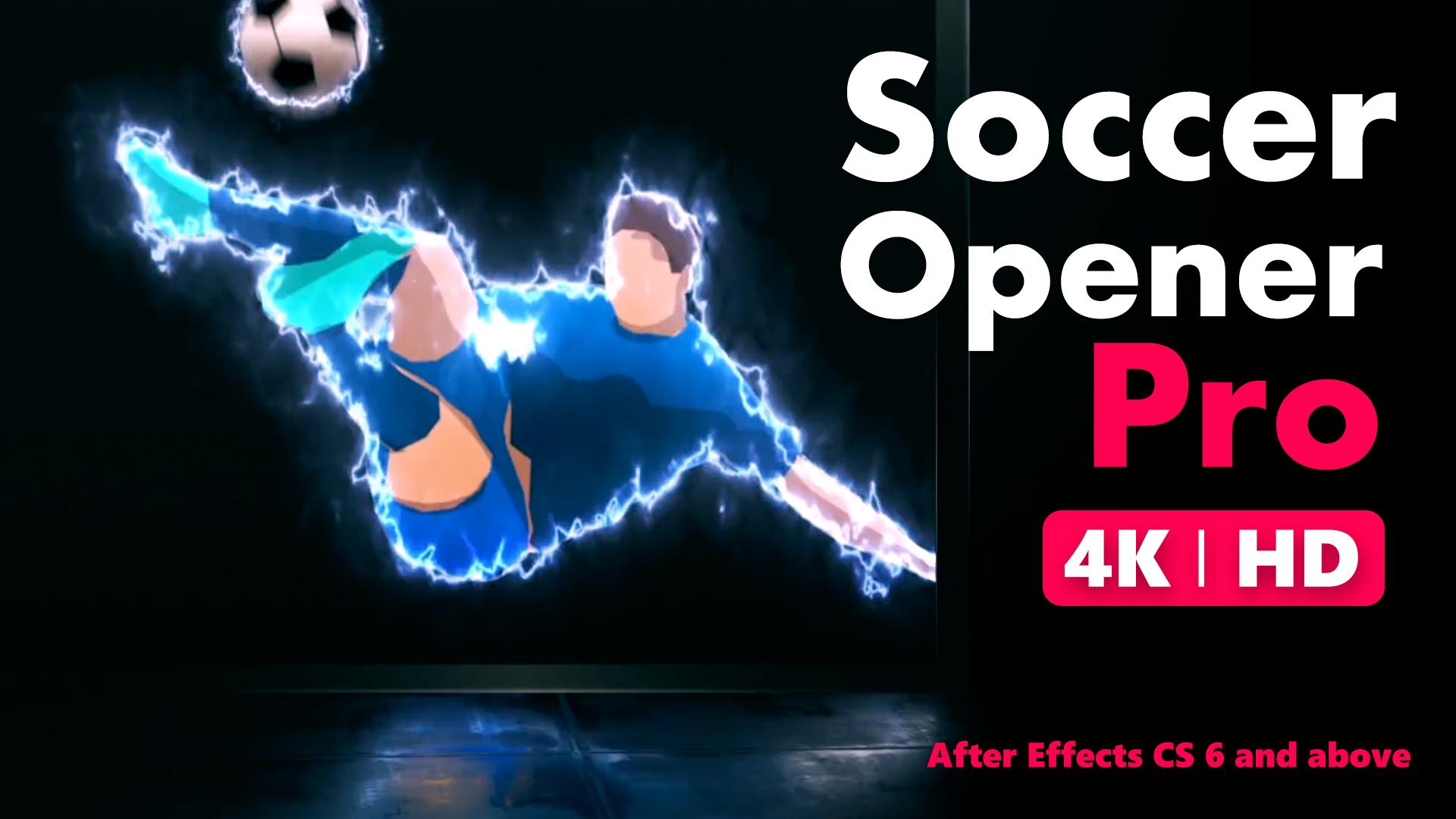 Soccer Intro Opener For Premiere Pro - 6
