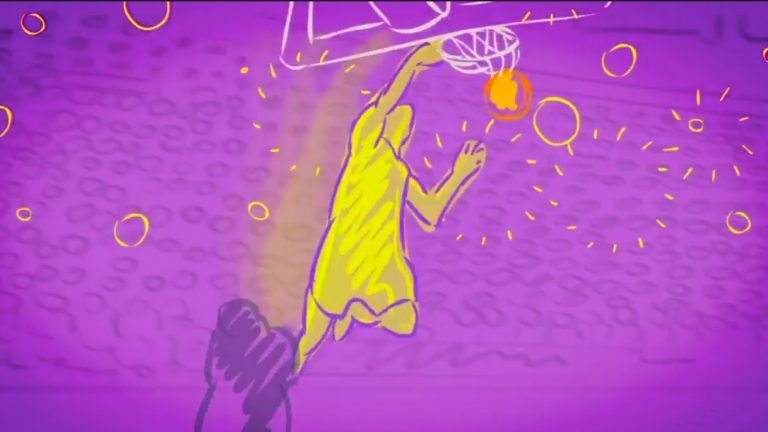 Basketball Intro Animation